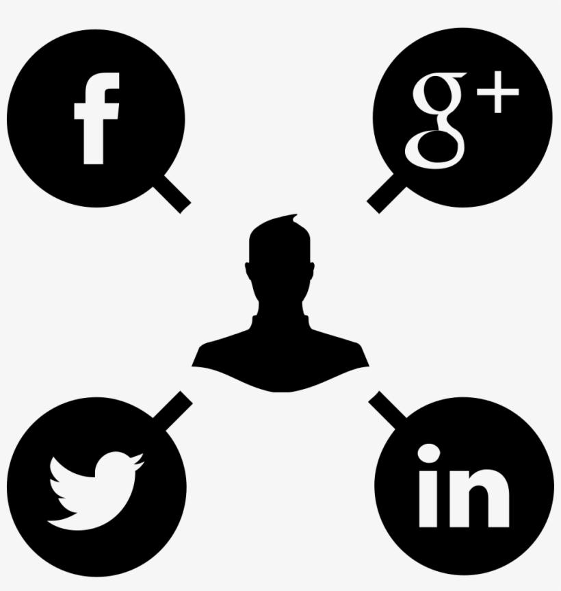 Social Media Campaign - Social Media Management Icon Png, transparent png #1281670