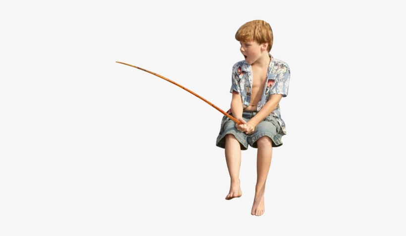 If You Want To Catch More Fish, You Need The Best Gear - Boy Fishing Png, transparent png #1282313