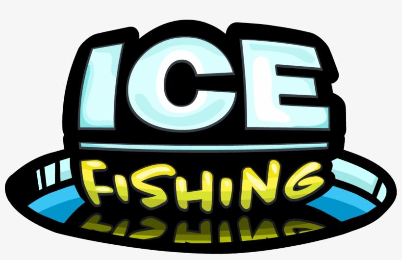 Ice Fishing Logo - Ice Fishing Club Penguin, transparent png #1283324