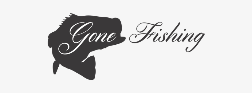 Gone Fishing Png - Bass Fish Silhouette Clip Art, transparent png #1283536