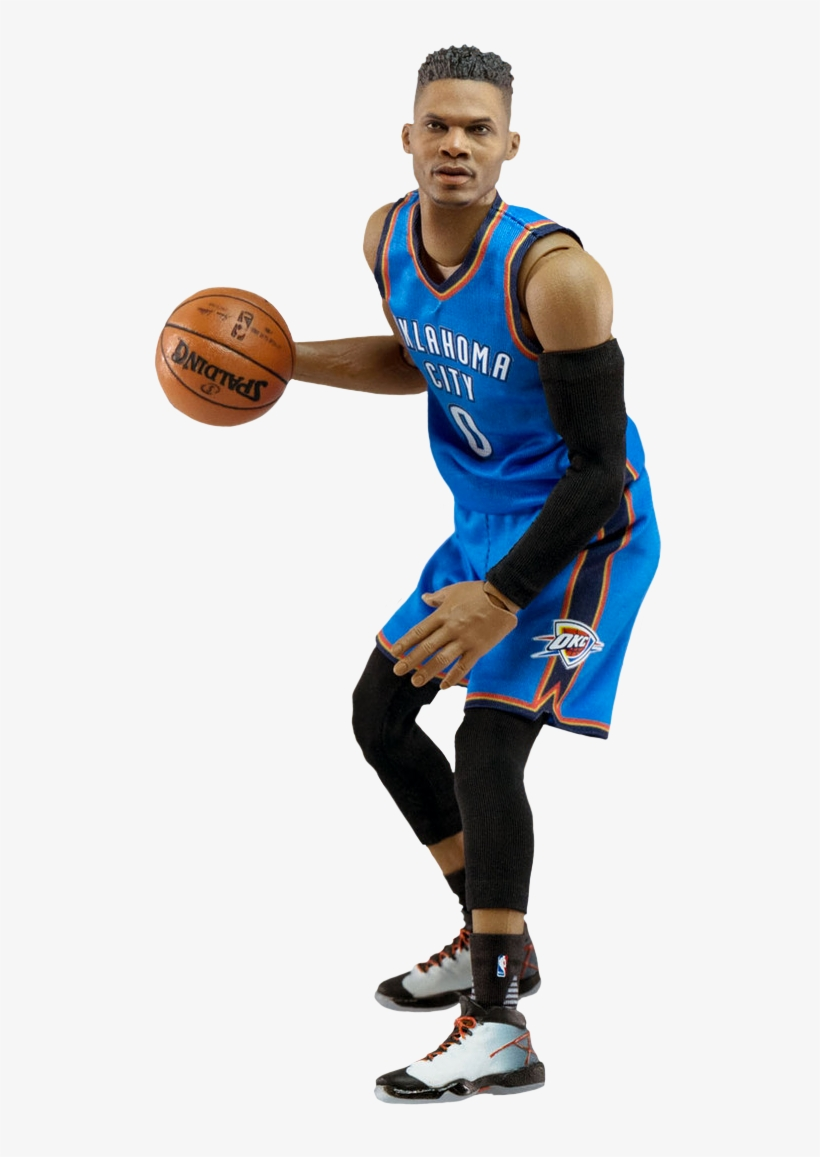 Nba Basketball - Russell Westbrook Cut Out, transparent png #1283701