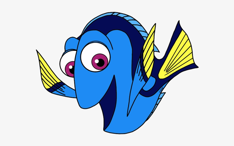 Dory Finding Nemo Clipart 3 By Patrick - Finding Dory, transparent png #1284817