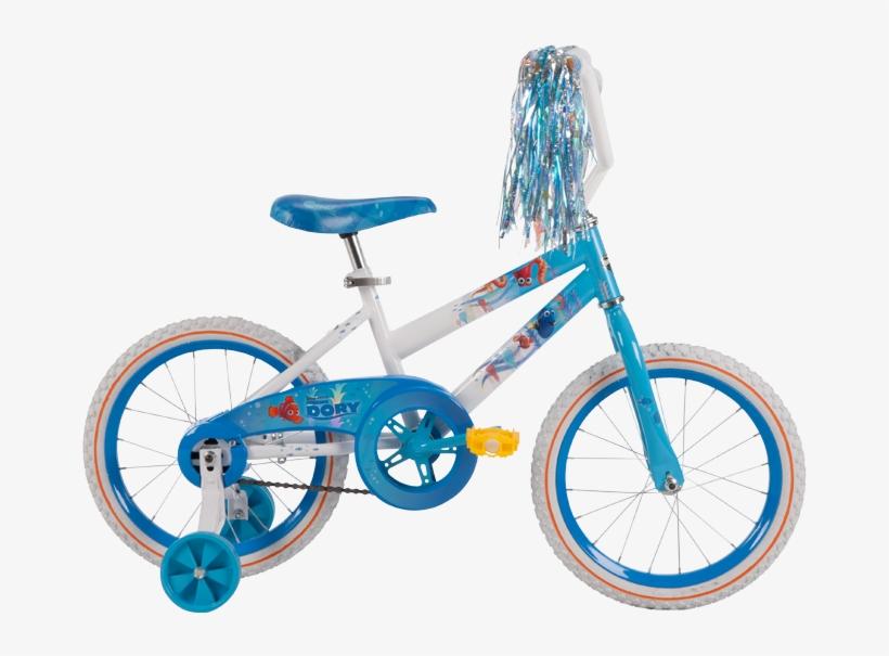 Disney Pixar Finding Dory Girls' Bike - 12inch Finding Dory Bike, transparent png #1284887