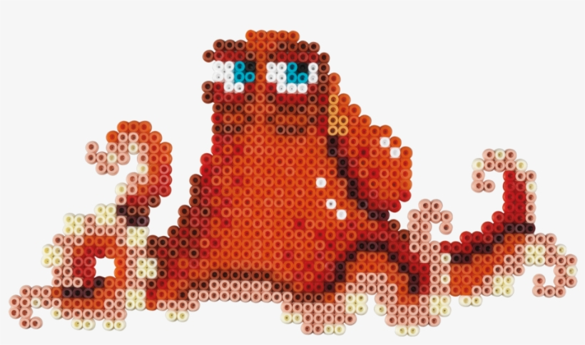 Hama Beads Disney Finding Dory Gift Box, transparent png #1284912