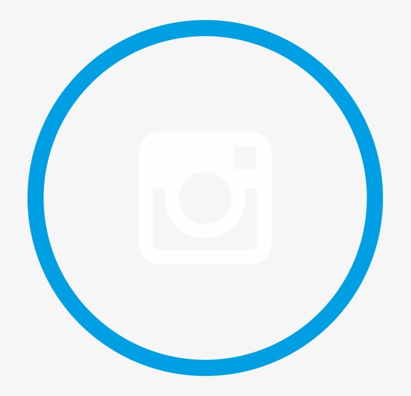 Blue Circle Outline Home Com Instagram Clip Black And - Circle Png, transparent png #1285838