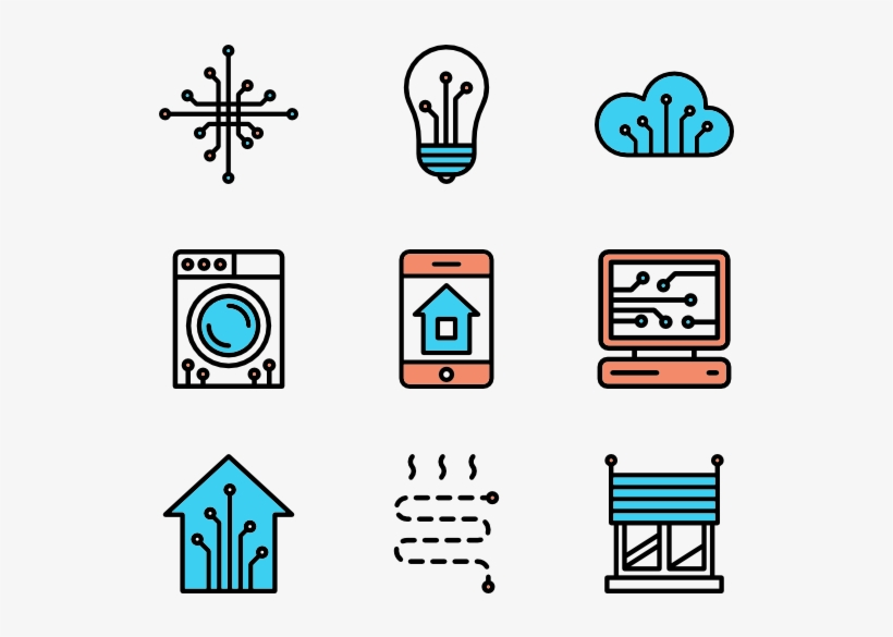 Linear Smart Home Elements - School Facilities Icon Png, transparent png #1285937