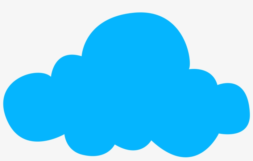 Clipart Resolution 3000*1918 - Nube Azul Dibujo Png, transparent png #1286905