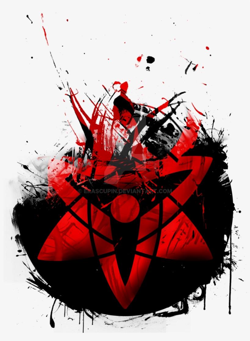 Eternal Mangekyou Sharingan By Erascupin On Deviantart Mangekyou Sharingan Sasuke Free Transparent Png Download Pngkey