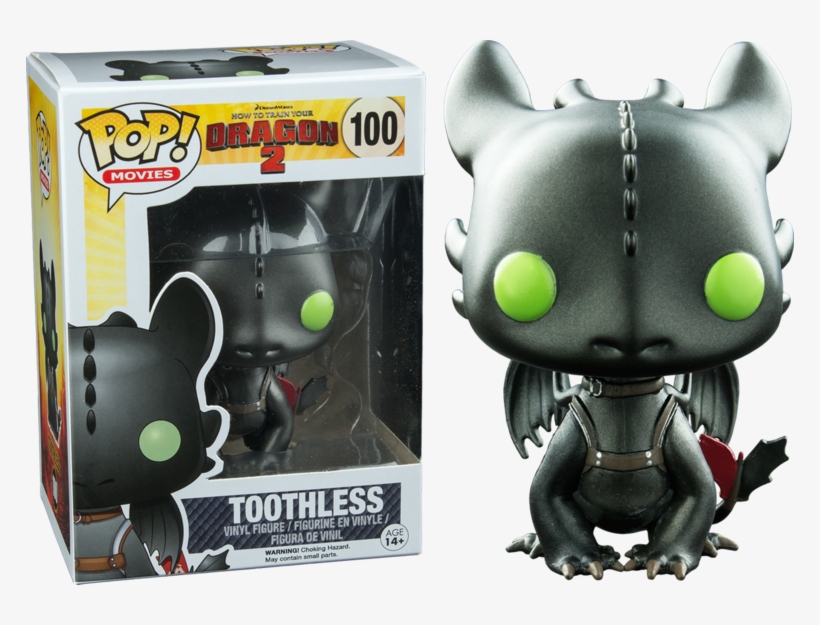 How To Train Your Dragon - Funko Dragons Pop Vinyl Toothless, transparent png #1288924