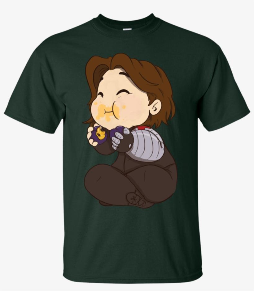 Give Bucky His Plums Bucky Barnes T Shirt & Hoodie - Deidara Art Is An Explosion Tee, transparent png #1290769