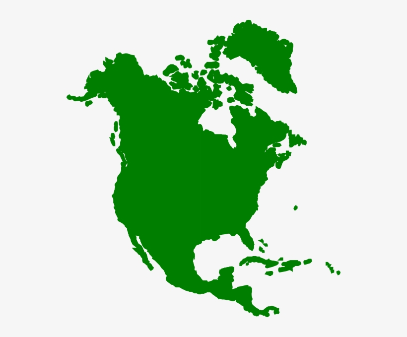 Jpg Freeuse Stock - North America Continent, transparent png #1290880