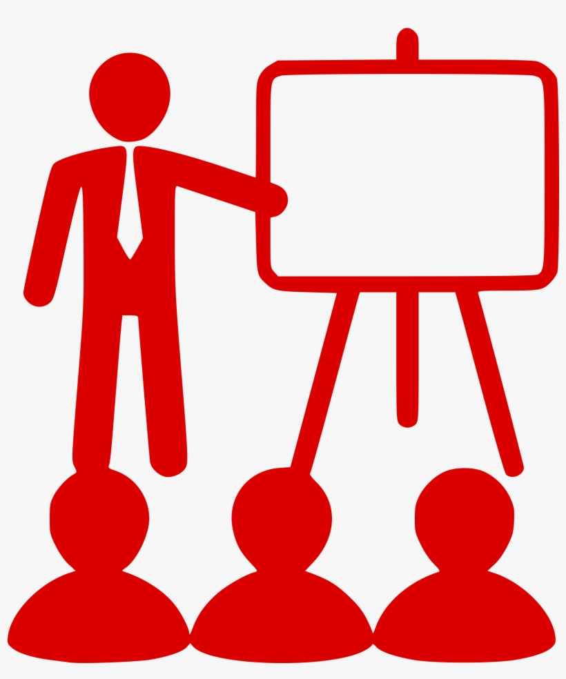 Teacher Education Computer Icons Teaching Method School - Teaching Icon Red, transparent png #1291051