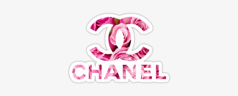 Download Pink Chanel Roses Logo Sticker Pink Chanel Drip Logo Png Image With No Background Pngkey Com