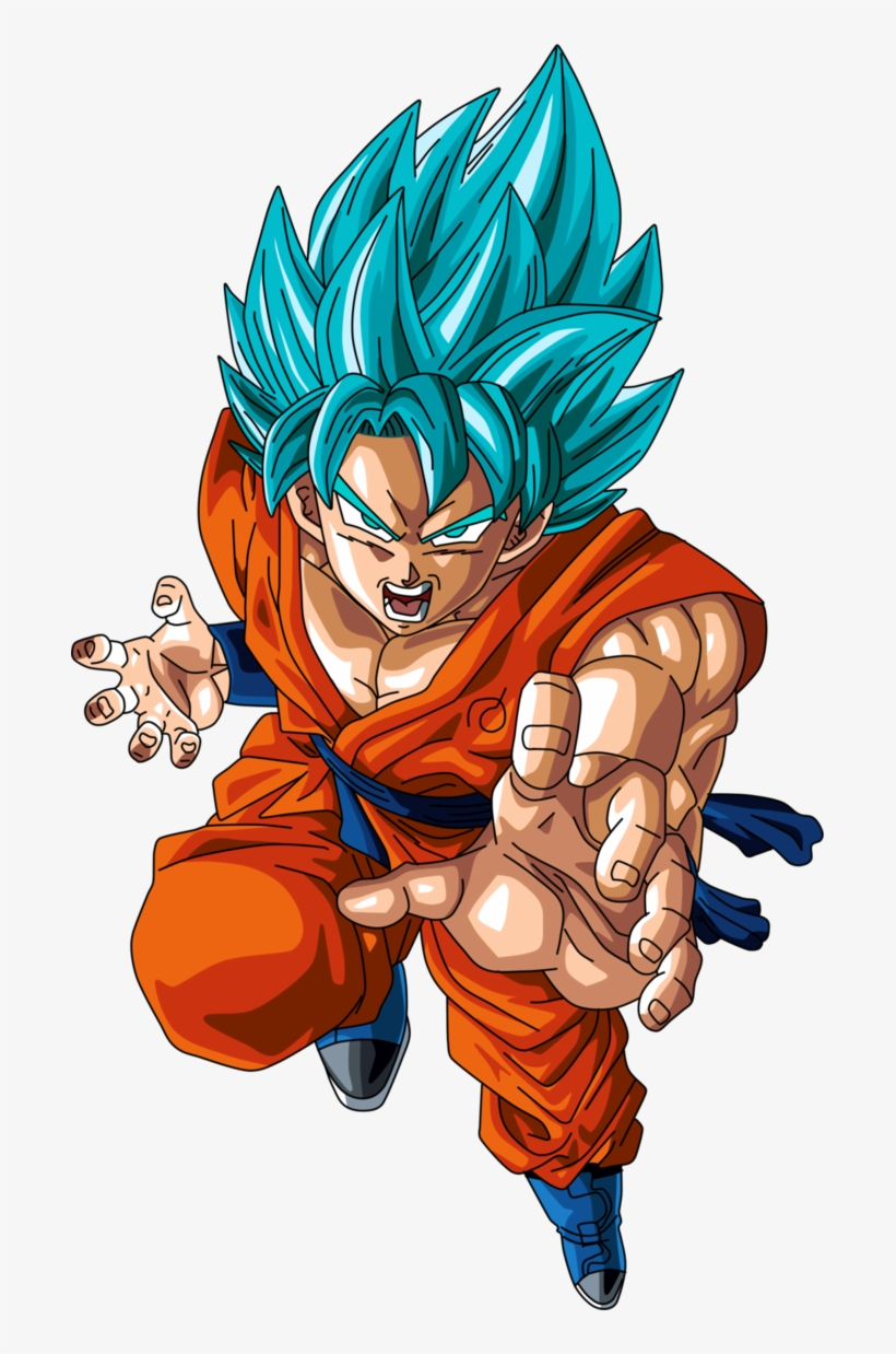 Goku En Super Saiyan Blue O Super Saiyan Dios Super - Dragon Ball Goku Super Saiyan God Ss, transparent png #1293943
