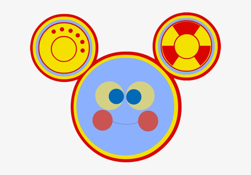 Clubhouse Mickey Head, Toodles Face - Toodles Mickey Mouse Clubhouse Png, transparent png #1296820