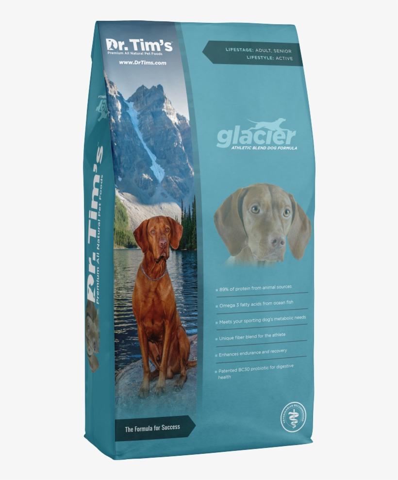 Tim's Glacier Athletic Blend Dry Dog Food - Dr. Tim's Glacier Athletic Blend Dry Dog Food, transparent png #1296869