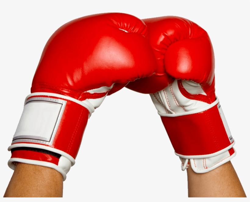Boxing Gloves Hands - Hands In Boxing Gloves, transparent png #131622