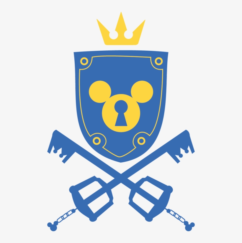 Kingdom Hearts - School Project - Kingdom Hearts Symbols Icon, transparent png #133087