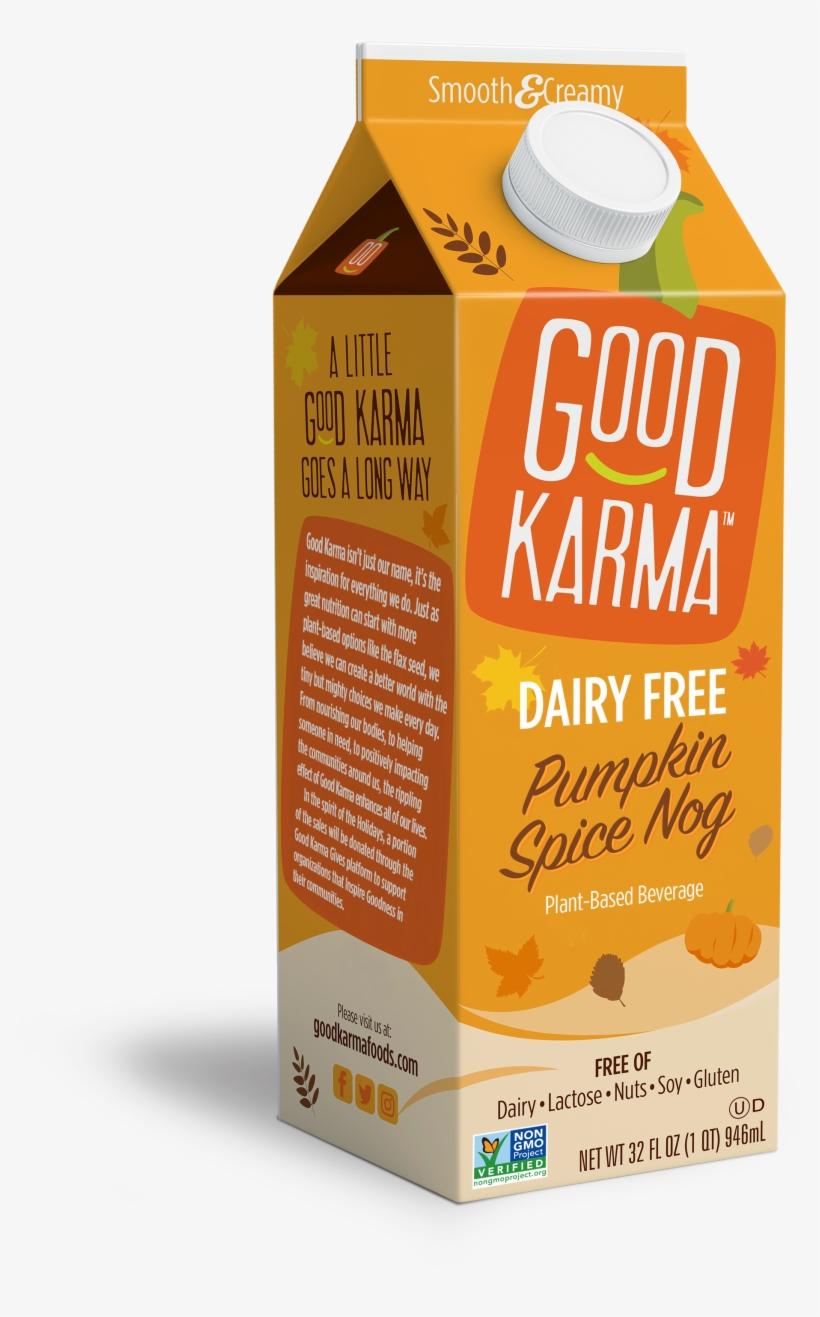 Good Karma Flax Milk Pumpkin Spice, transparent png #133491