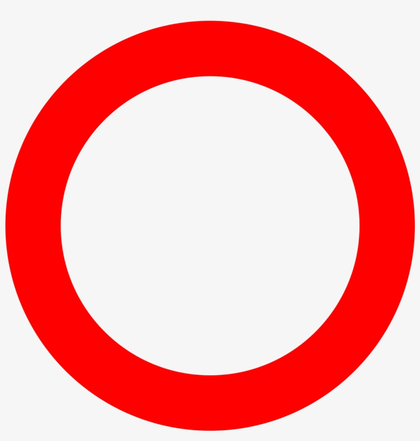 Open - Circle, transparent png #134106