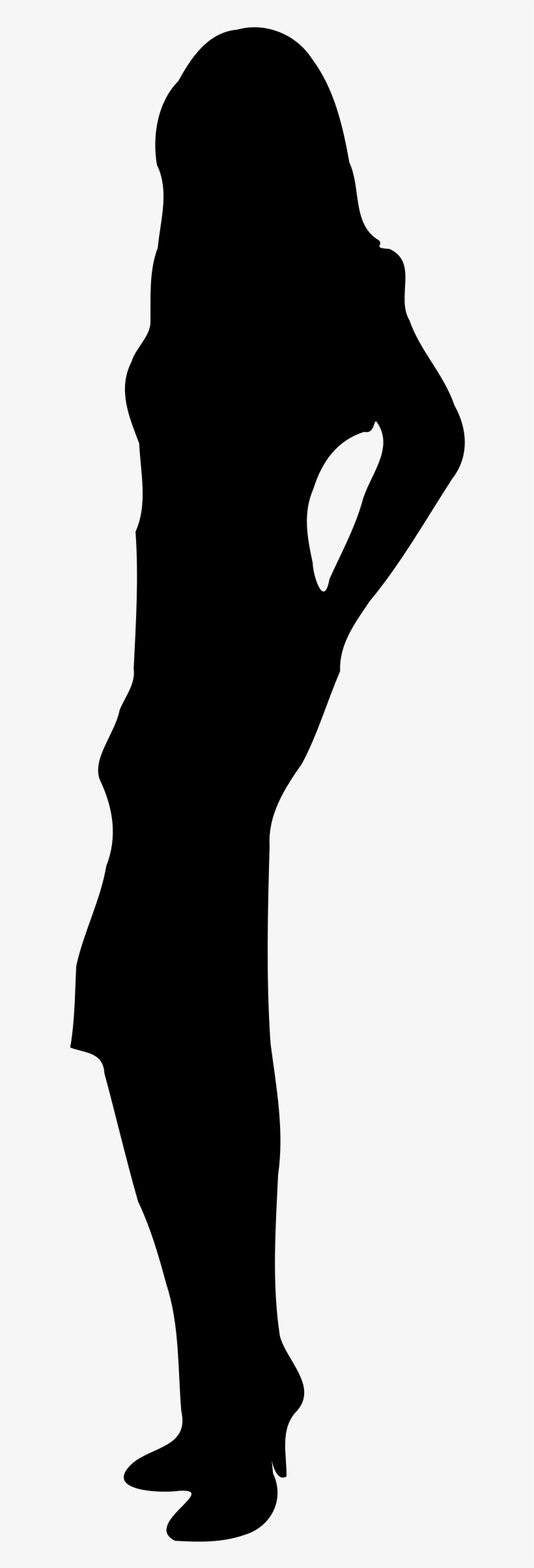 Woman Standing Silhouette Png - Woman Standing Silhouette, transparent png #134259