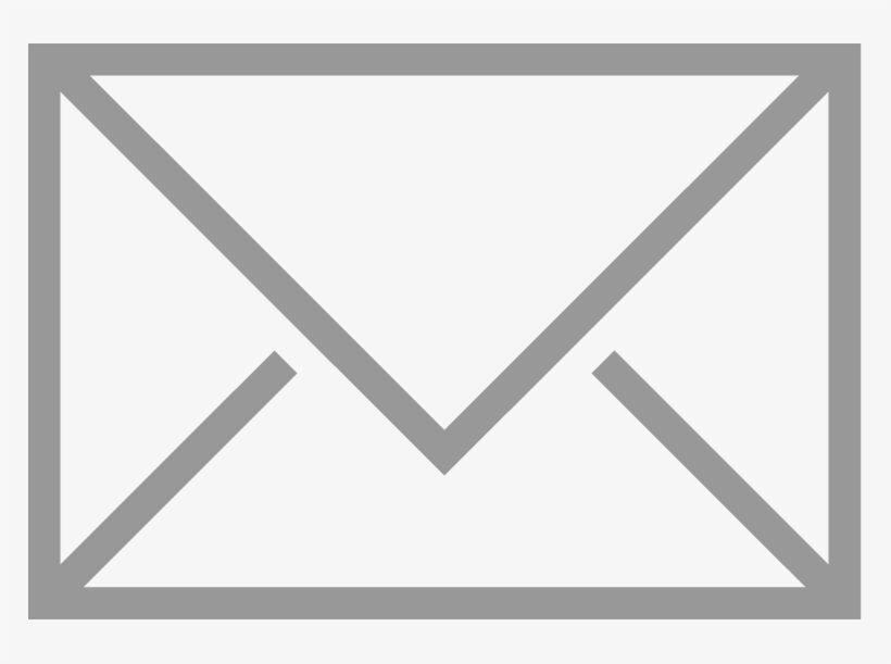 Email Logo White Png, transparent png #134427