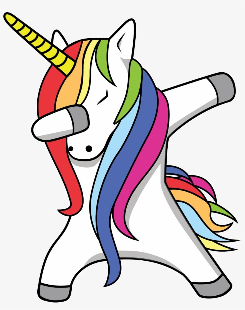 Unicorn Transparent Dab Transparent Unicorn Dabbing Free