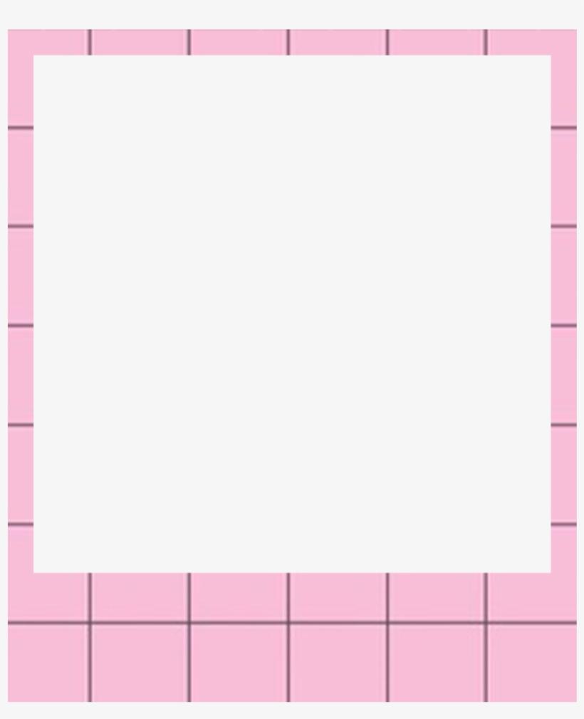 Ftestickers Polaroid Frame Polaroidframe Pink - Overlays Polaroid Png, transparent png #135162