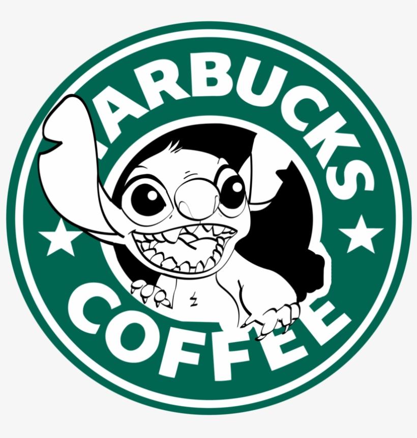 Starbucks Logo, Disney Starbucks, Starbucks Coffee, - Starbucks Coffee Stitch, transparent png #135467