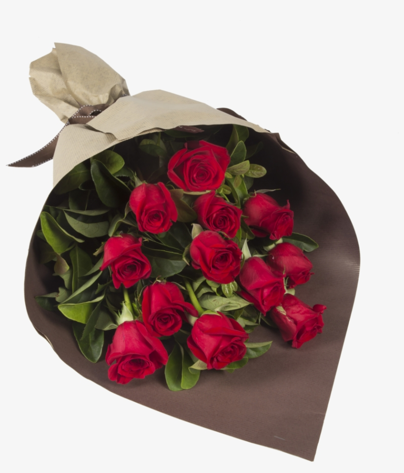 Red Roses Bouquet Png - 12 Red Roses Bouquet, transparent png #135655