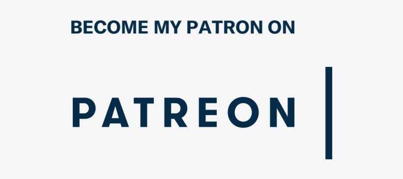 Become My Patron On Patreon Logo - Patreon Logo Transparent, transparent png #135940