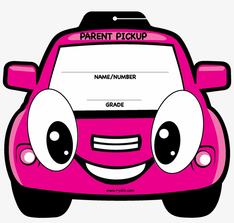 School Products Graphic Library Stock - Parent Pick Up Tags, transparent png #136548