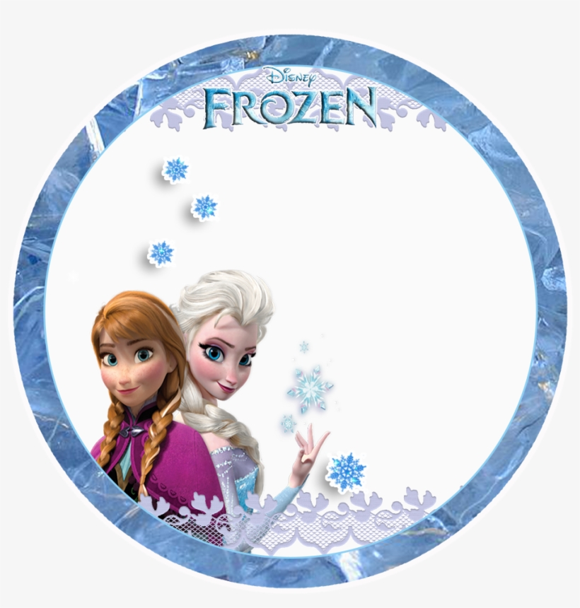 Free Printable Toppers - Toppers Frozen Png, transparent png #136648