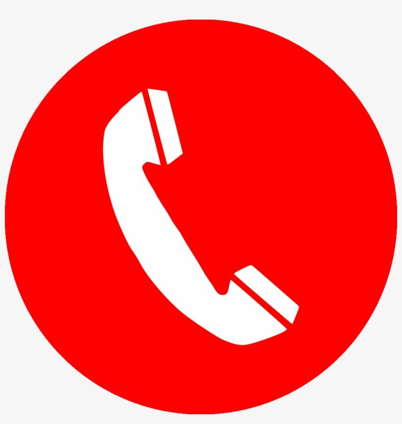 Red Phone Icon Png - Call Red Icon Png, transparent png #137208