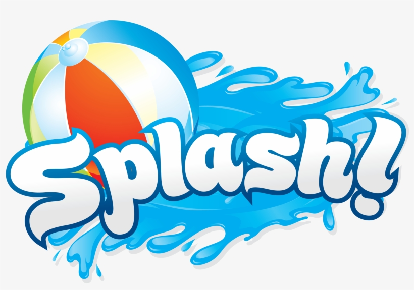 Pool Party - Free Water Splash Clipart, transparent png #137409