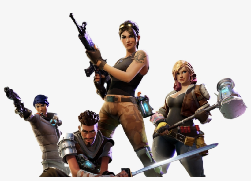 Artwork By Epic Games - Epic Games Fortnite Deluxe Edition Pc - Download, transparent png #137681