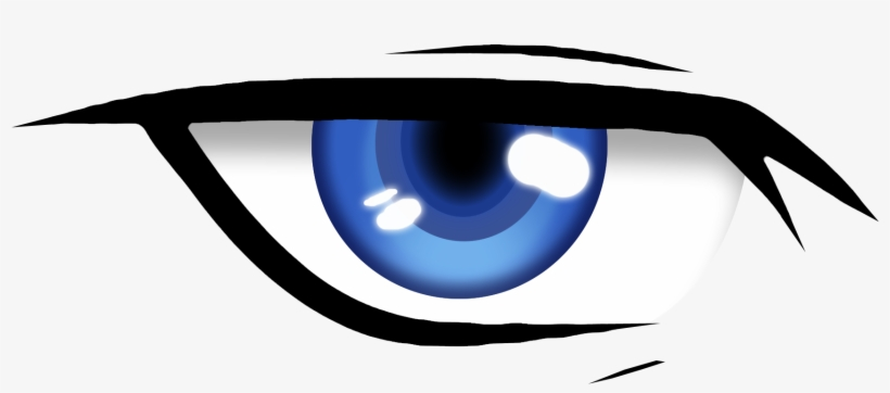 Anime Eye Png - Cool Anime Eyes Png, transparent png #138263