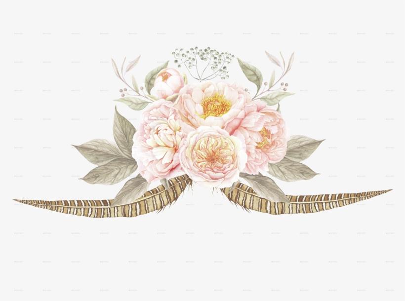 Vintage Flower Flowers On Invitations, transparent png #138674