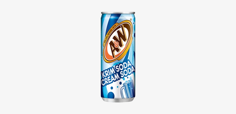A And W Cream Soda - A&w Root Beer, 12 Oz. Cans, 24/pack, White, transparent png #138696