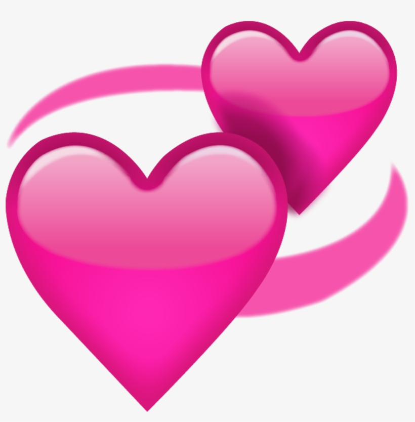 The Most Useless Heart Emoji - Love Heart Emoji Transparent, transparent png #138827