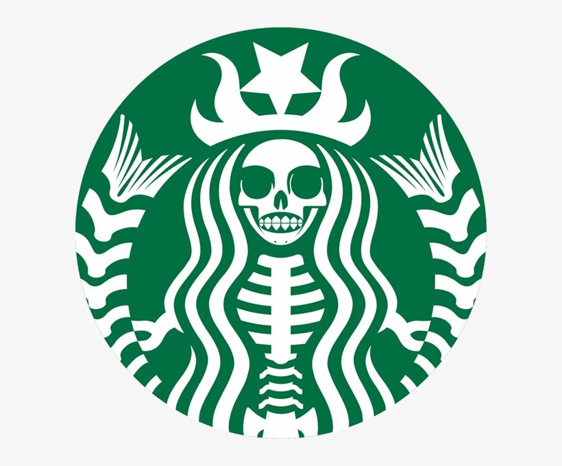 Skeleton Starbucks Logo Png - Starbucks Skeleton Logo, transparent png #139675
