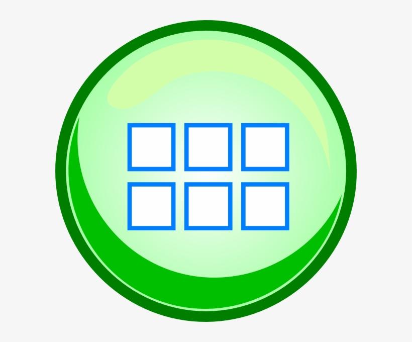 Menu Green Button Clip Art - Free Menu Button Images Png, transparent png #1300924