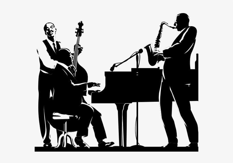Jazz Musician Png Transparent Image - Jazz Music Png, transparent png #1301016