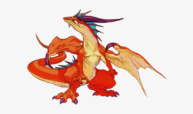 Dragon - Ryu Breath Of Fire Dragon, transparent png #1302867