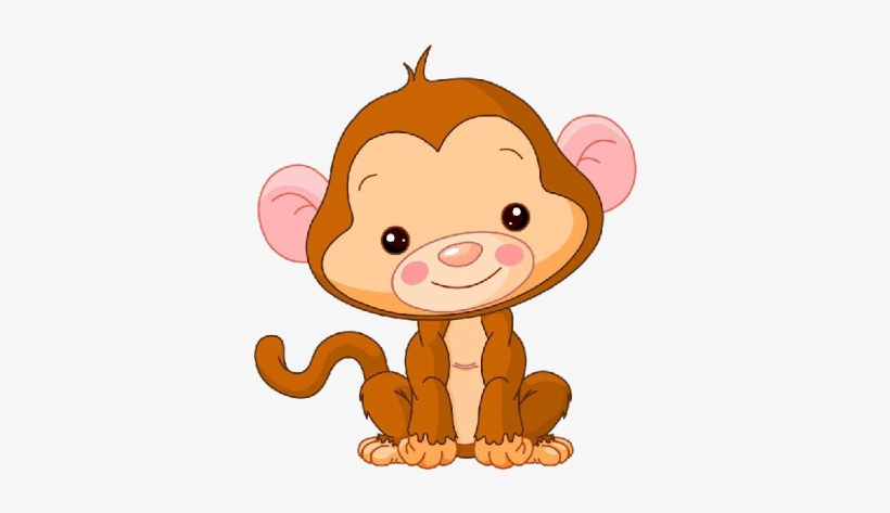 Baby Monkeys Funny Monkey Images - Cute Baby Monkey Clipart, transparent png #1303275