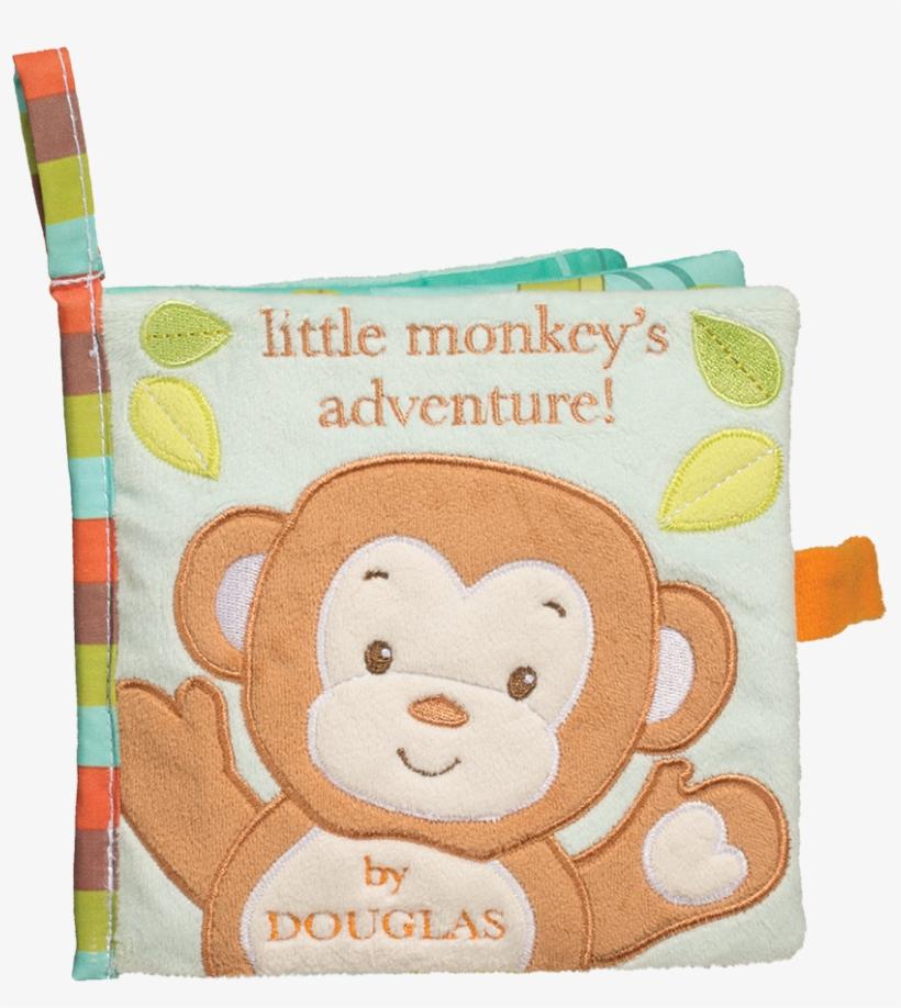 Douglas Baby Monkey Soft Activity Book - Book Monkey Baby, transparent png #1303672