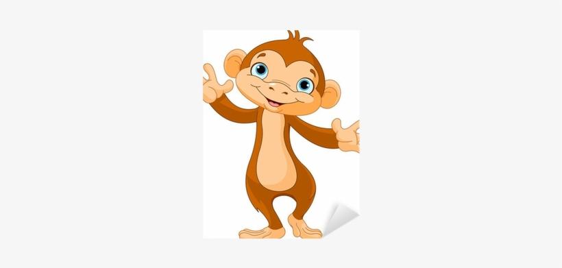 Baby Monkey Cartoon, transparent png #1304333