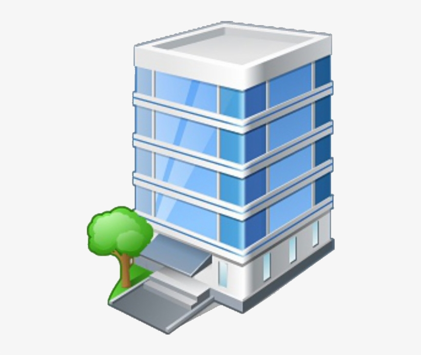 Office Building Icon, transparent png #1306106