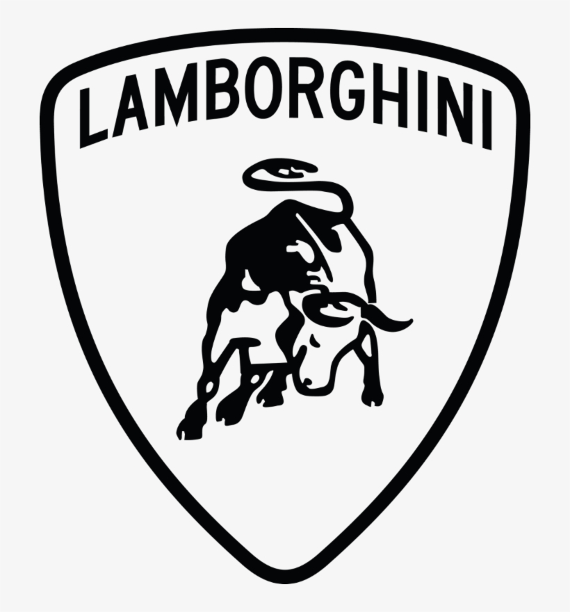 Lamborghini Aventador Car Ferrari Logo Lamborghini Logo Black And