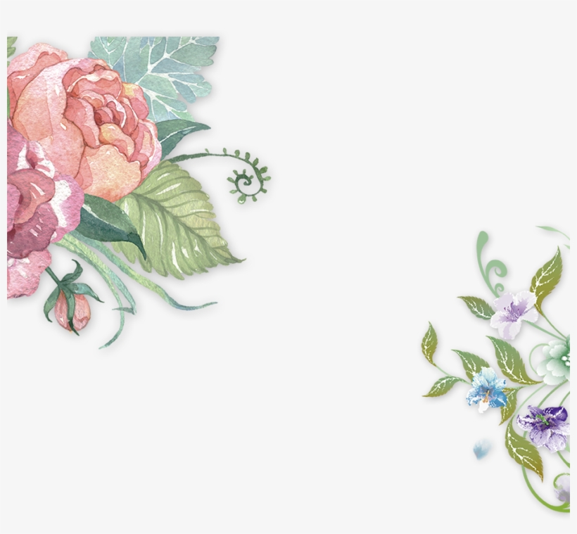 Vector Royalty Free Stock Photography Flower Decorative - Watercolor Pink Flower Png, transparent png #1307129